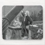 William Herschel  Discovers the Planet Uranus Mouse Pad