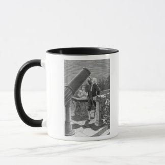 William Herschel  Discovers the Planet Uranus Mug