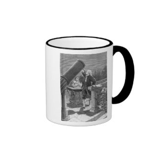 William Herschel  Discovers the Planet Uranus Ringer Coffee Mug