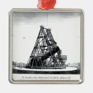 William Herschel's Forty Foot Telescope Christmas Ornament