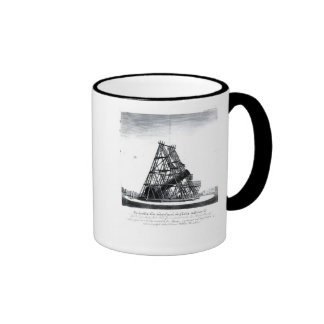 William Herschel's Forty Foot Telescope Ringer Coffee Mug