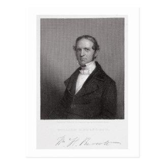 William Hickling Prescott, engraved by Thomas B. W Postcard
