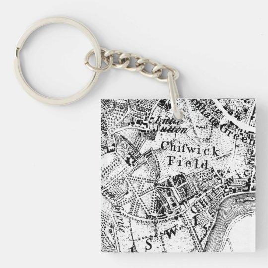 William Hogarth Art Keychain