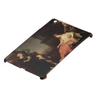 William Hogarth-Moses Before Pharaoh's Daughter iPad Mini Covers