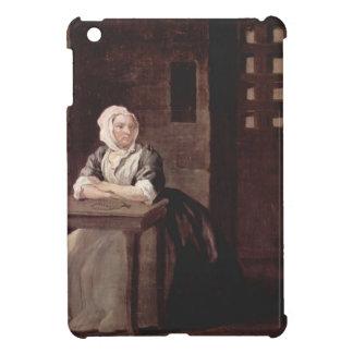 William Hogarth-Portrait of Sarahin Prison Case For The iPad Mini