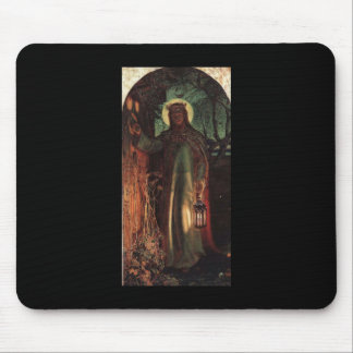 William Holman Hunt Light of the World Mouse Pad