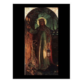 William Holman Hunt Light of the World Postcard
