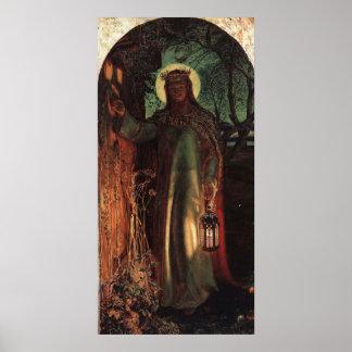 William Holman Hunt Light of the World Poster