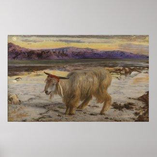 William Holman Hunt The Scapegoat Poster