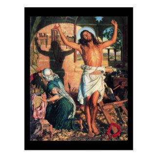 William Holman Hunt The Shadow of Death Postcard