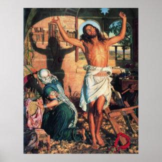 William Holman Hunt The Shadow of Death Print