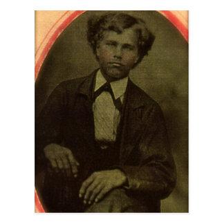 William HOWARD of Windsor, Pennsylvania, ca 1870 Postcard