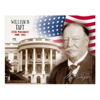 William Howard Taft - 27th President of the U.S. Postcard