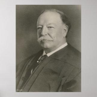 WILLIAM HOWARD TAFT as Chief Justice SCOTUS Print