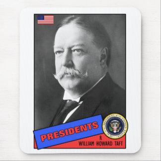 William Howard Taft Baseball Card Mousepad