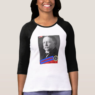William Howard Taft Baseball Card Shirt