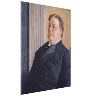 WILLIAM HOWARD TAFT de la tarjeta del día de San V Lienzo Envuelto Para Galerias