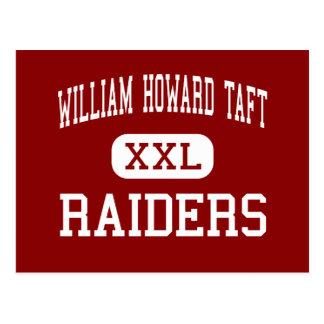 William Howard Taft - Raiders - High - San Antonio Postcard