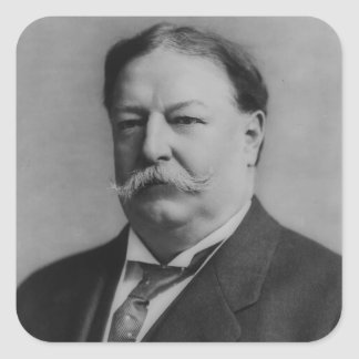 William Howard Taft Square Sticker
