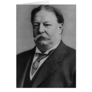 William Howard Taft Tarjeta De Felicitación