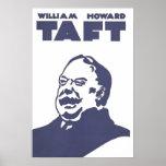 William Howard Taft US President Poster