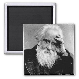 William Huggins, 1910 2 Inch Square Magnet