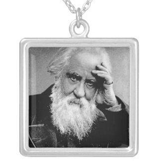 William Huggins, 1910 Square Pendant Necklace
