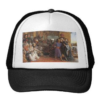 William Hunt- Finding of the Saviour in the Temple Trucker Hat