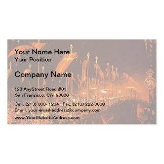 William Hunt- London Bridge on Night of Marriage Business Card Template