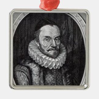 William I Prince of Orange Metal Ornament