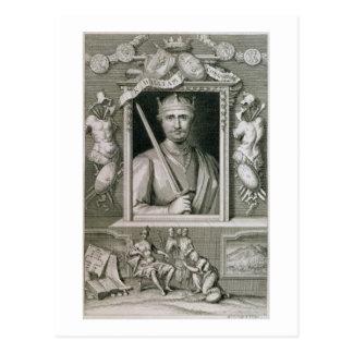 William I the Conqueror (1027-87) King of England Postcard