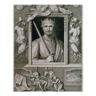 William I the Conqueror (1027-87) King of England Poster