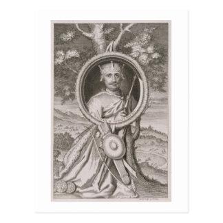 William II 'Rufus' (c.1056-1100) King of England f Postcard
