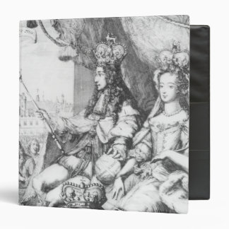 William III  and Mary II 3 Ring Binder