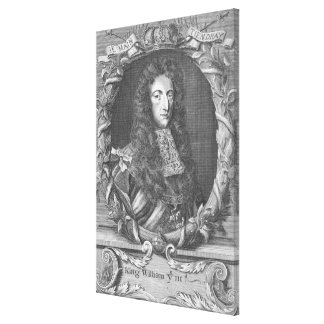 William III  Stadholder and King of England Canvas Print
