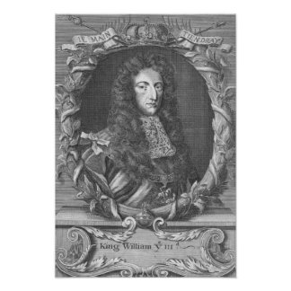 William III  Stadholder and King of England Print