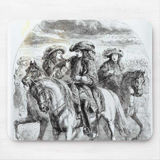 William III  Wounded at the Battle of the Mouse Pad