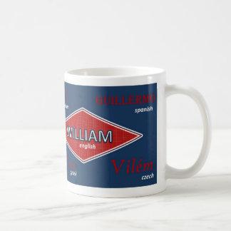 William International Name Mug
