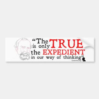 William James Bumper Sticker