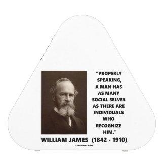 William James cita social de muchos uno mismo Altavoz Bluetooth