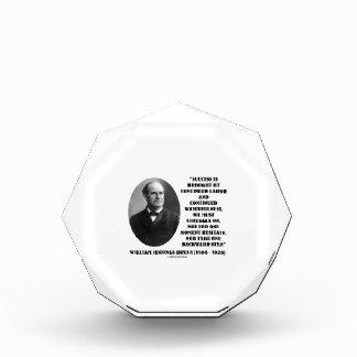 William Jennings Bryan Success Labor Watchfulness Acrylic Award