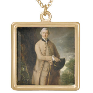 William Johnstone-Pulteney, Later 5th Baronet, c.1 Gold Plated Necklace