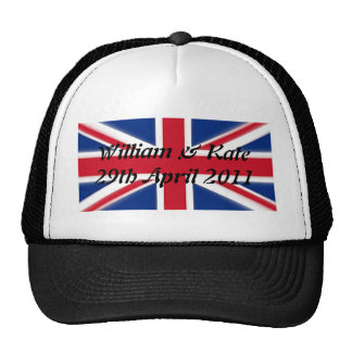 William & Kate - 29th April 2011 Trucker Hat