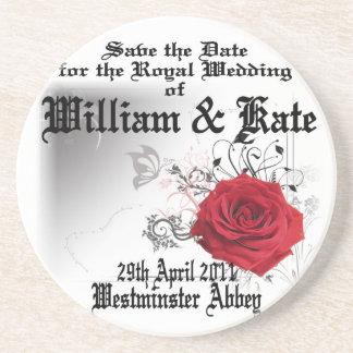 William & Kate Royal Wedding Collectibles Souvenir Drink Coaster