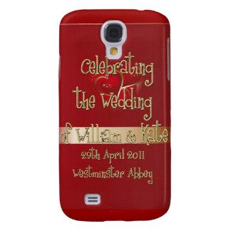 William & Kate Royal Wedding Collectibles Souvenir Galaxy S4 Cover