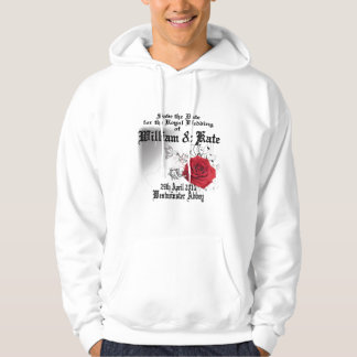 William & Kate Royal Wedding Collectibles Souvenir Hoodie