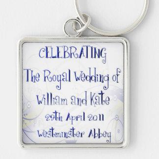 William & Kate Royal Wedding Collectibles Souvenir Keychain