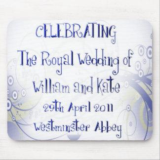 William & Kate Royal Wedding Collectibles Souvenir Mouse Pad