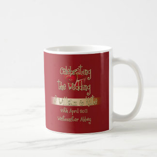 William & Kate Royal Wedding Collectibles Souvenir Classic White Coffee Mug