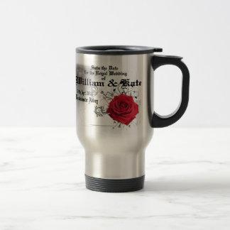 William & Kate Royal Wedding Collectibles Souvenir 15 Oz Stainless Steel Travel Mug